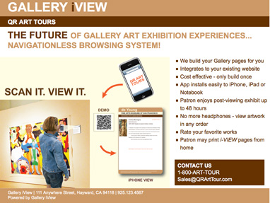 iView Gallery Marketing Proposal